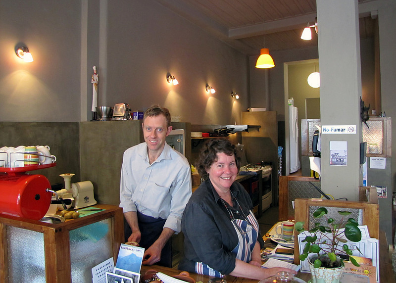 Chris and Jenny, owners of the Kookaburra where we stayed