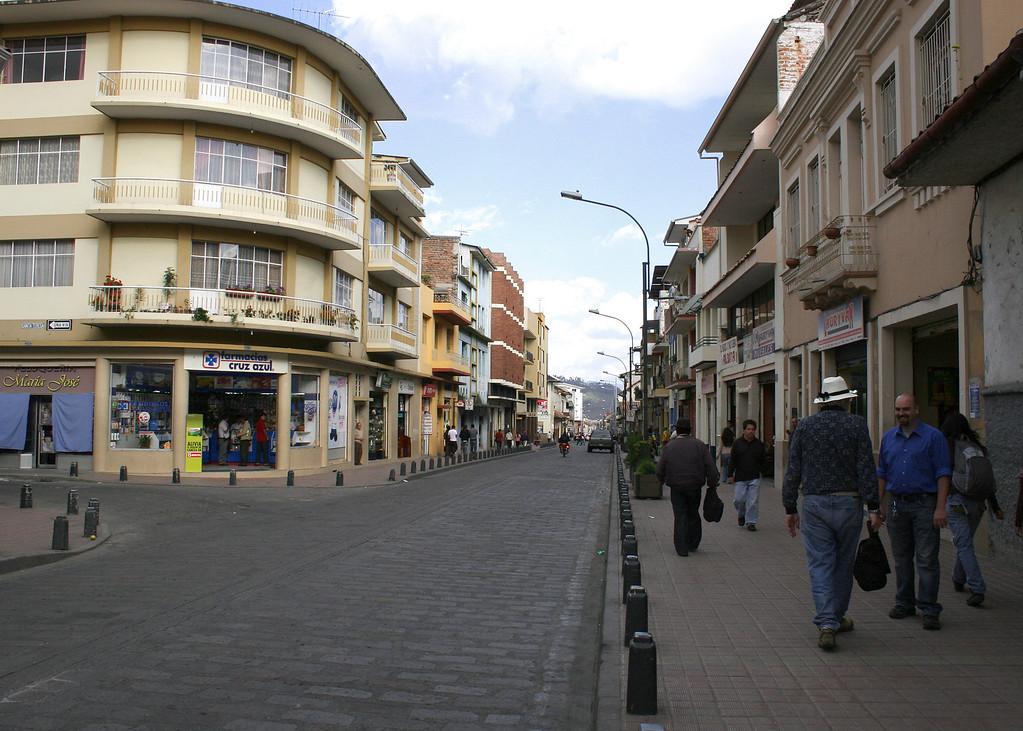 Street in Cuenca