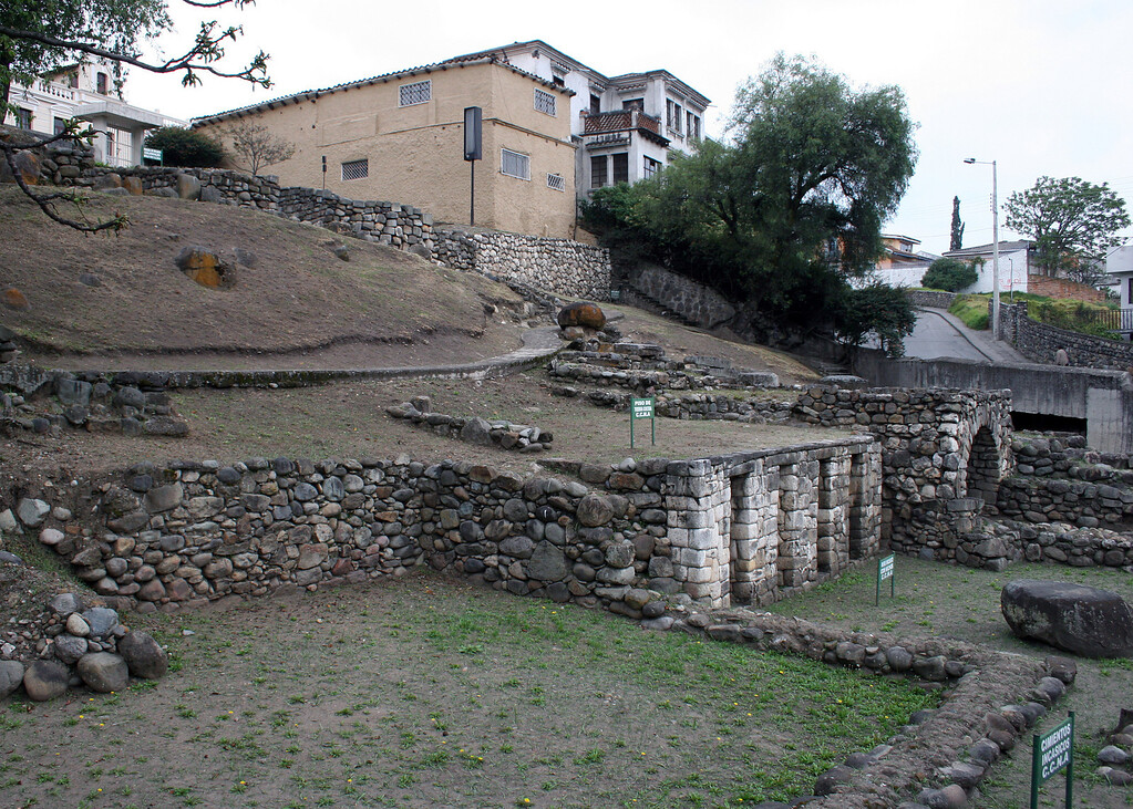 Ruins de Todos Santos.  The ruins were discovered in November 1972, when excavation for the construction of a house.  They found the presence of three cultures:   Canaris, Incas and Spanish.
