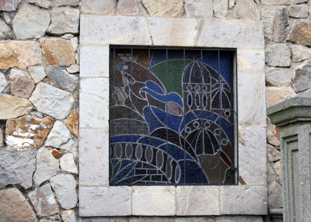 Stained glass at Museo Bibliotec