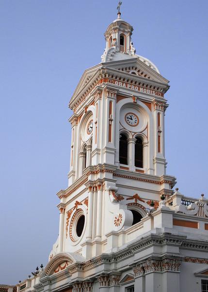 The tower of Iglesia San Francisco