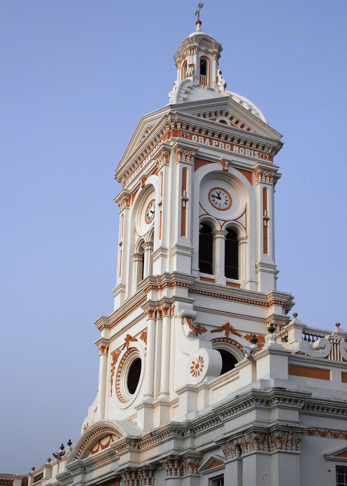 The tower of Iglesia San Francisco