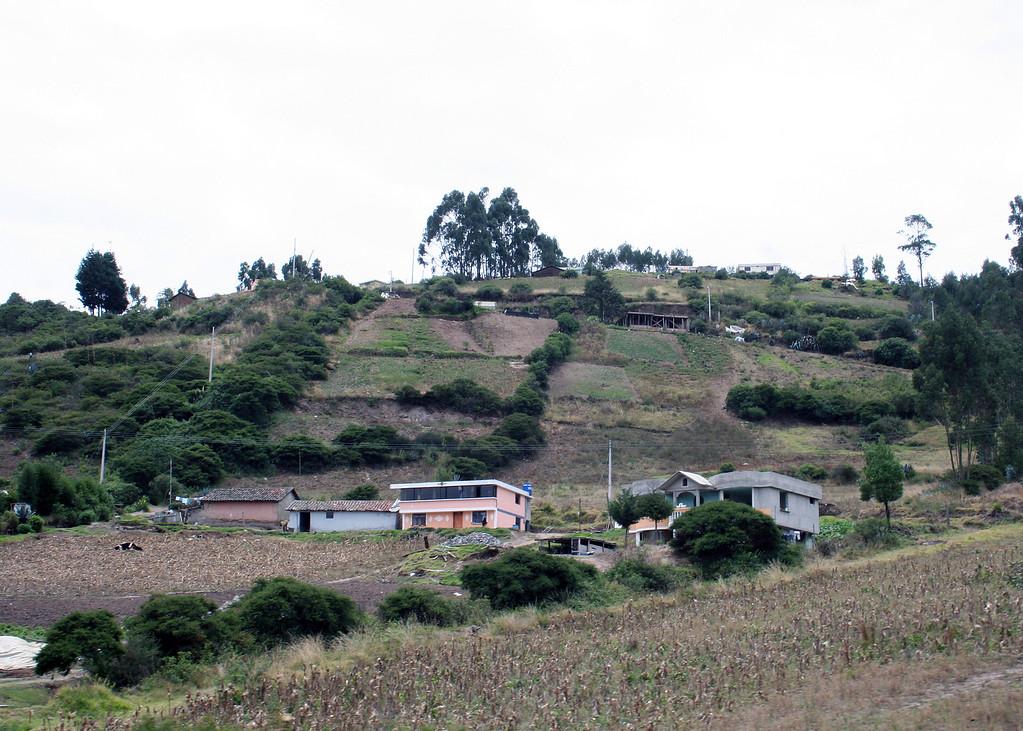 Between Guayllabamba and Cayambe