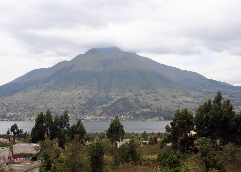 Lago San Pablo is the largest lake in Imbabura Province