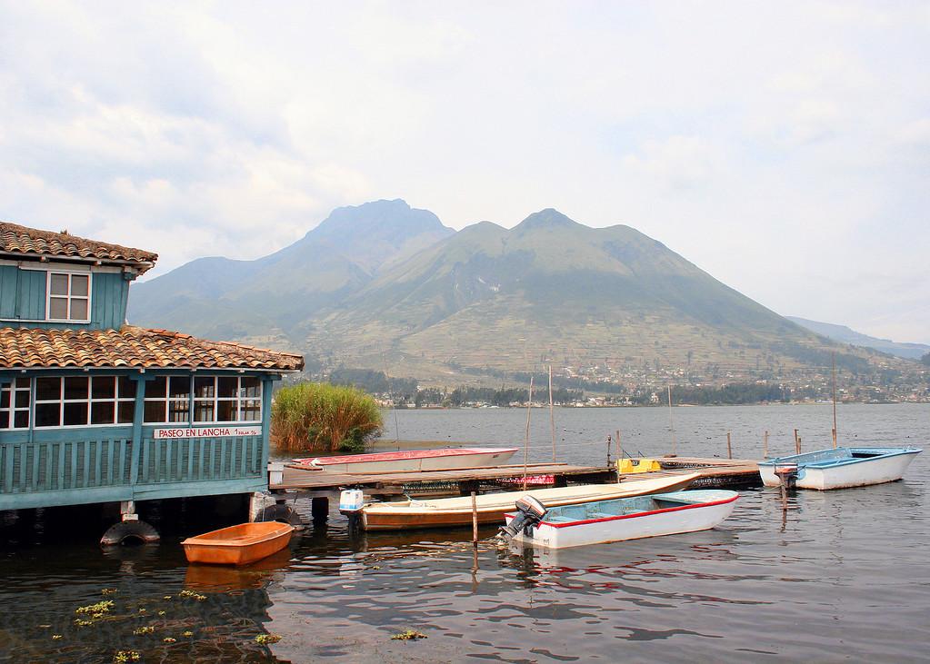 Lago San Pablo.