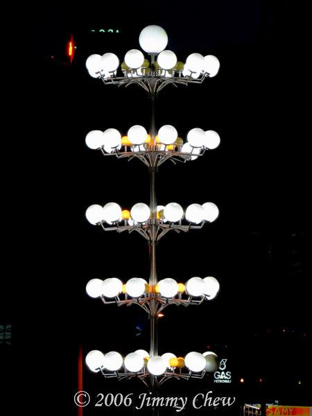 Brinchang lights.