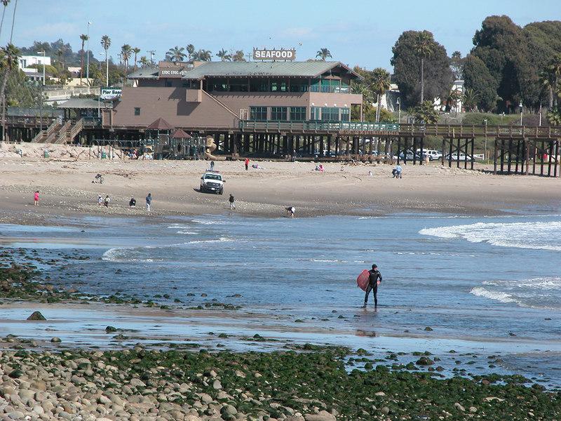 The Ventura Pier and restaurant