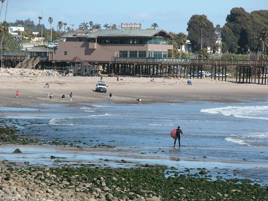 The Ventura Pier and restaurant