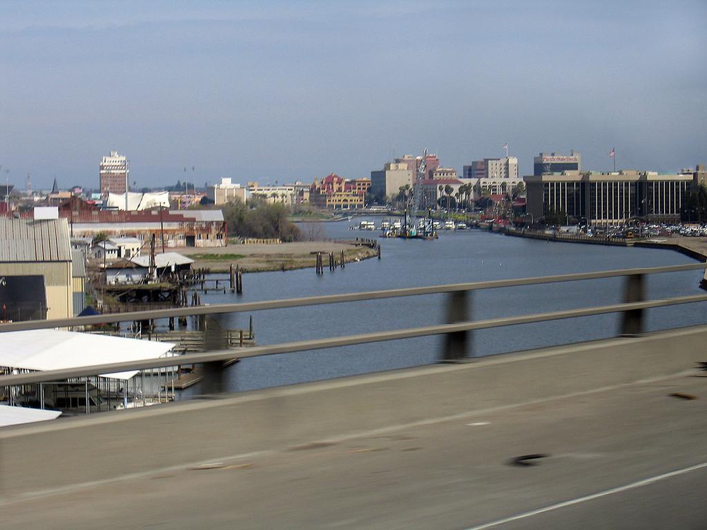 Sacramento River at Stockton, CA