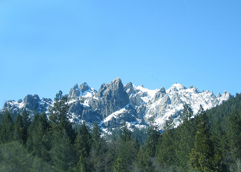 Castle Crags around Dunsmuir, CA