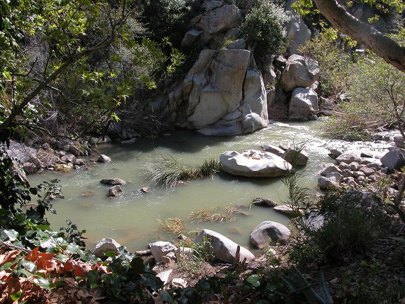 River below Matilija Hot Springs