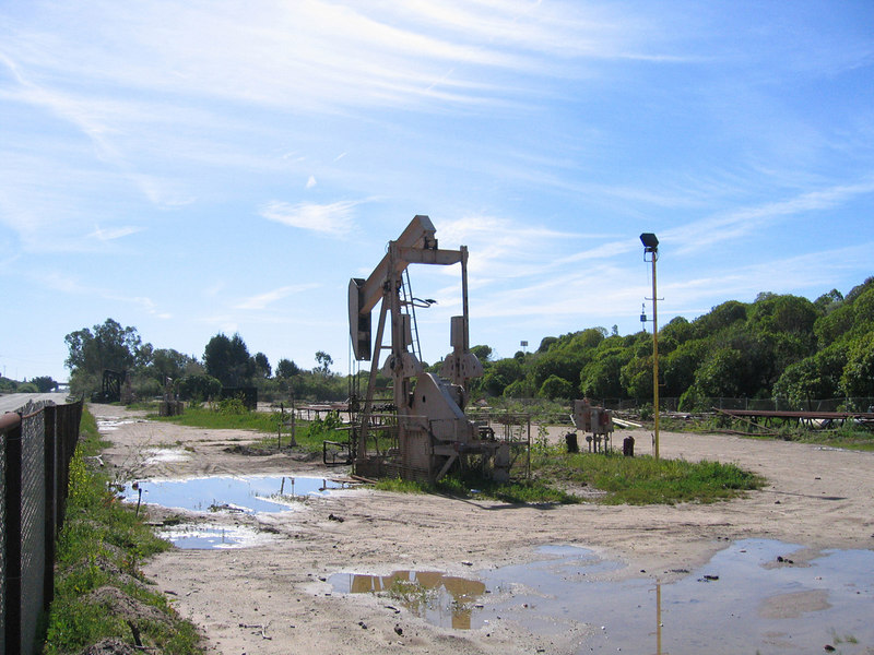 Oil rig Mike passed along the bike ride