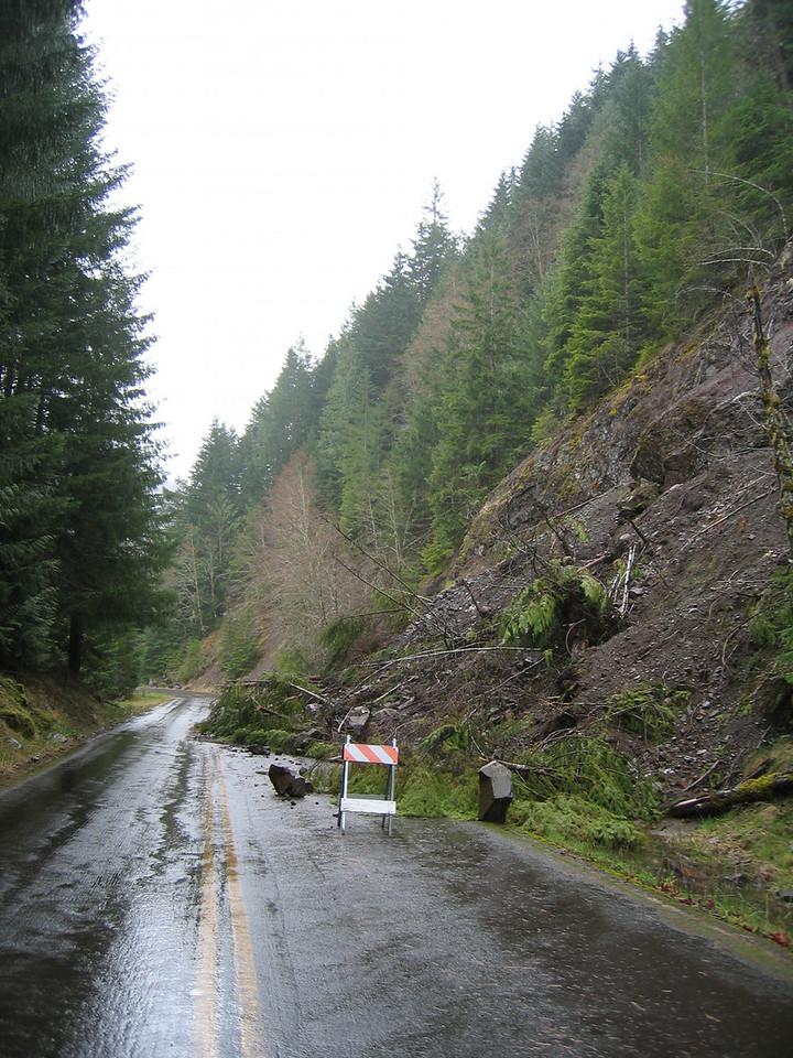 Landslide on 19