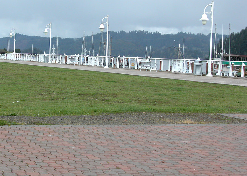 Port of Siuslaw waterfront