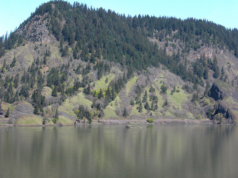 The Columbia River from Mitchell Point