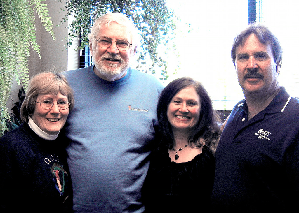 Susan and Mike with Mike's neice, Donna Balok and her husband Bob