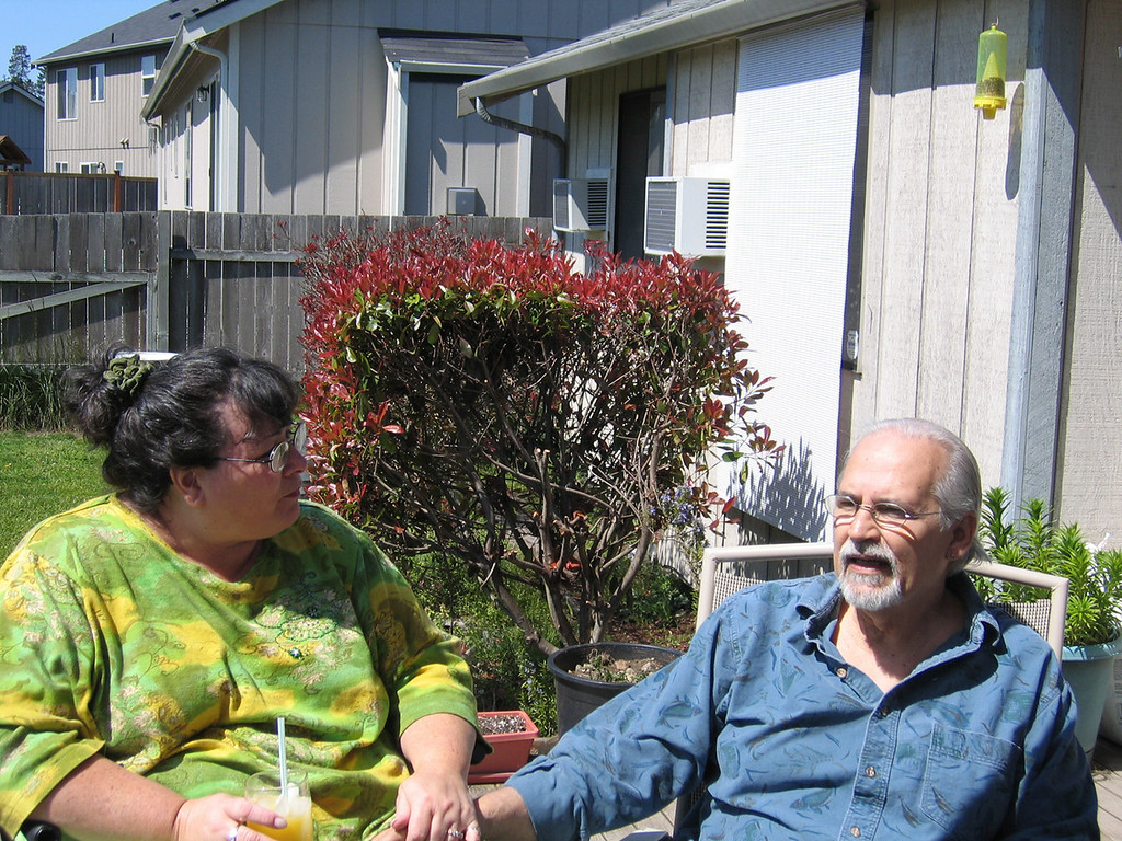 Dondra Lopez and Jose Gonzales at their home in Lacey, WA