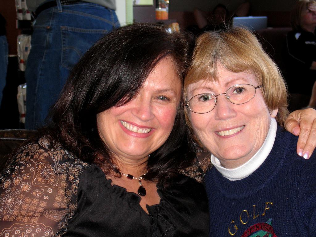 Donna and Susan