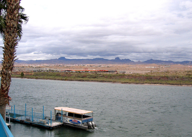 Colorado River, Laughlin, AZ<br /> <br /> We took a little side trip into Laughlin to try our luck at the casinos.  As expected, they kept it all but we had some fun while it lasted.