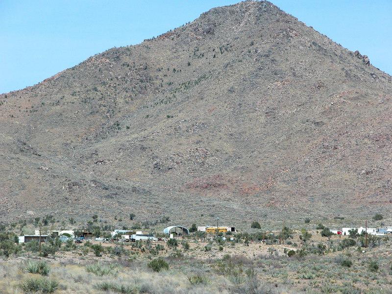 About 26 miles east of Kingman AZ