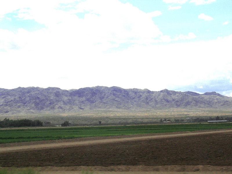 Fields around Bullhead City, AZ