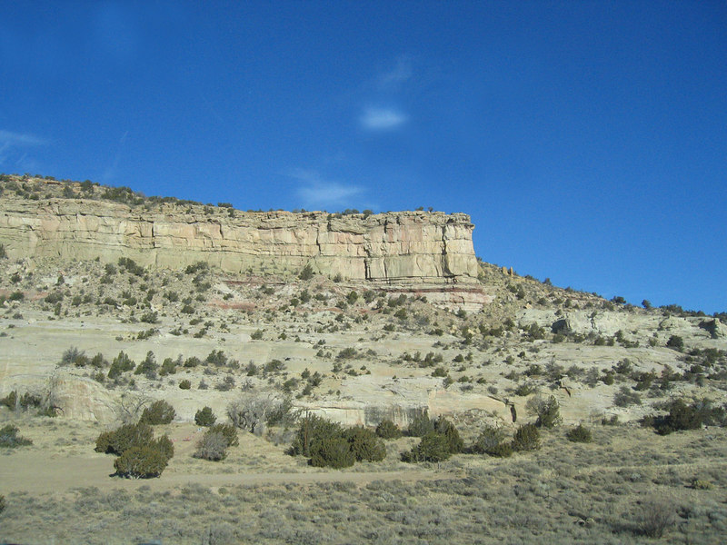 Hills between Gallup, NM and Manuelito, NM.