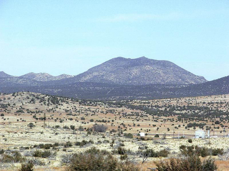 Between Flagstaff and California