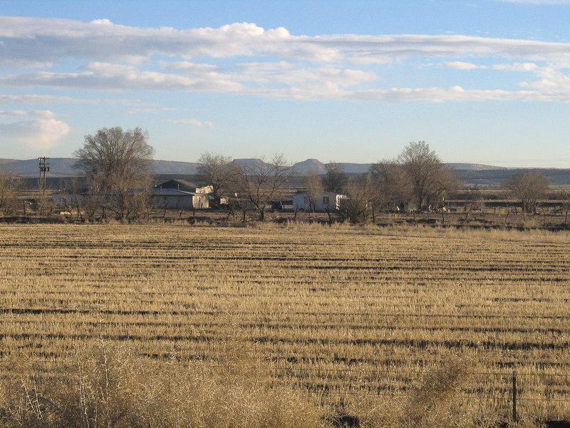 Farm west of Albuquerque