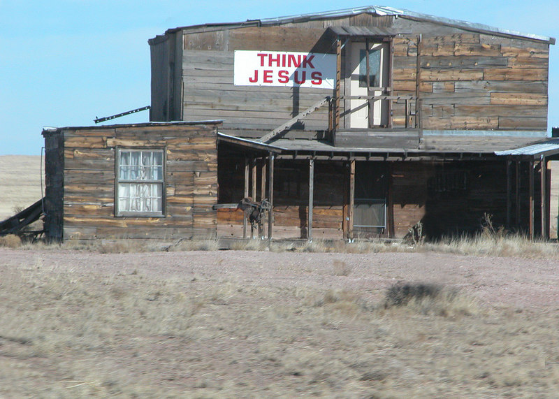 Old building along the road in Arizona