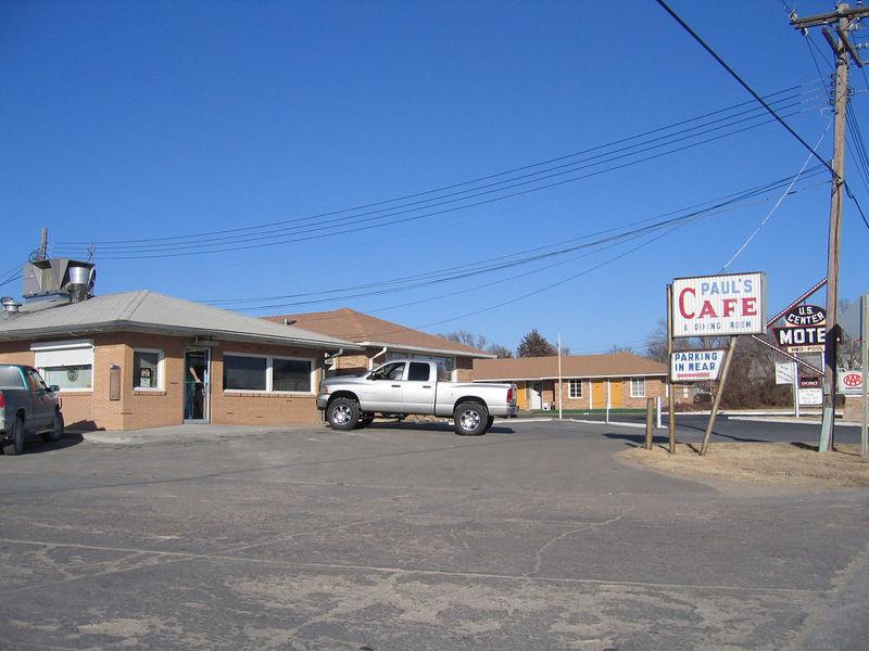 Paul's Cafe.