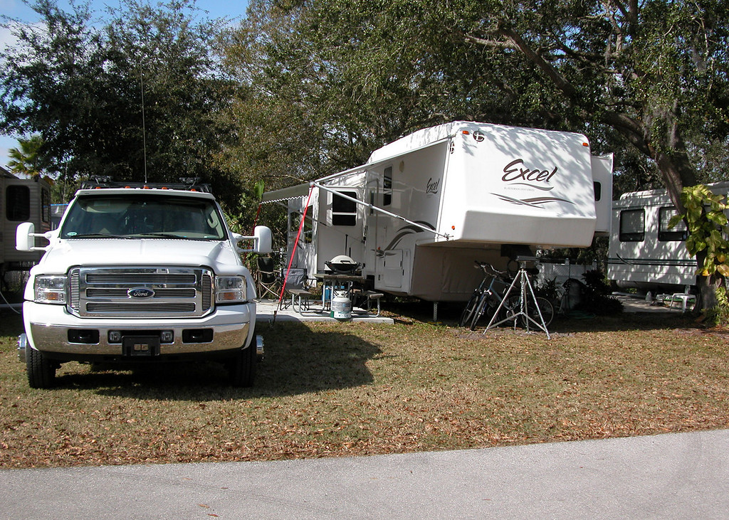 Bay Bayou RV Park - This is our spot.
