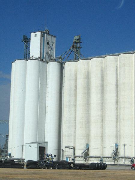 Plains, KS along route 283