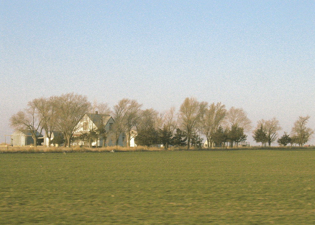 House along route 283 in Kansas