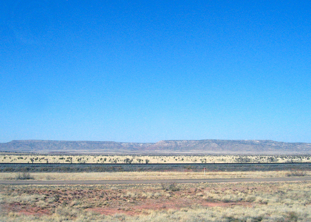Mesas outside Palomas, NM along Interstate 40
