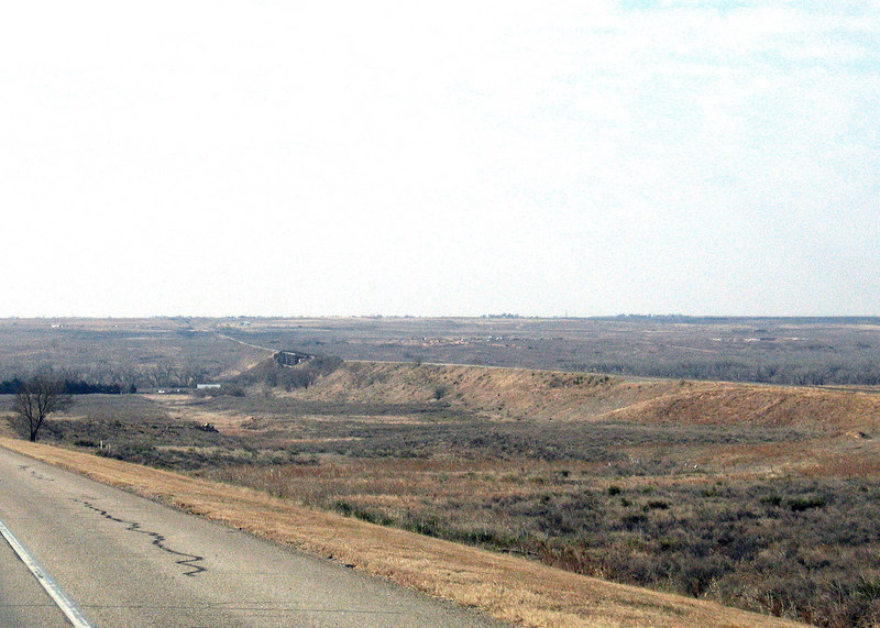 Before Liberal, KS along route 283