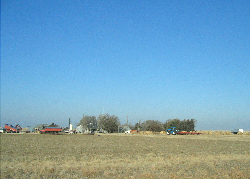 Just outside Jetmore, KS along route 283