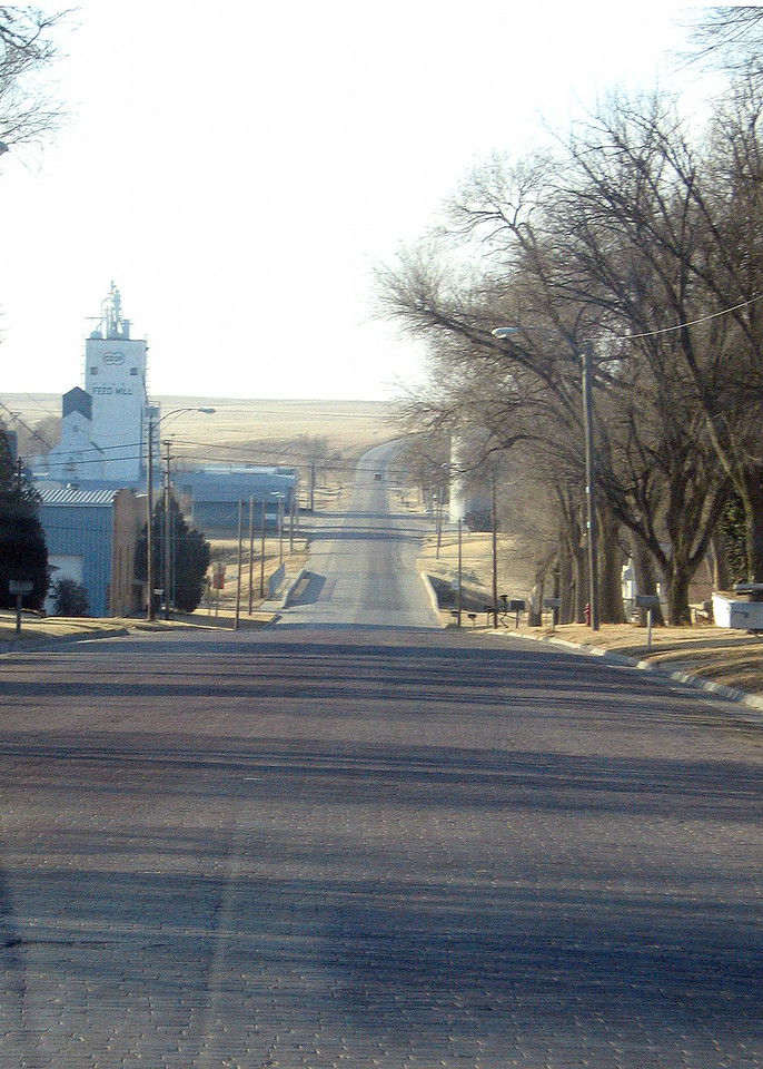 Going out of Jetmore, KS along route 283