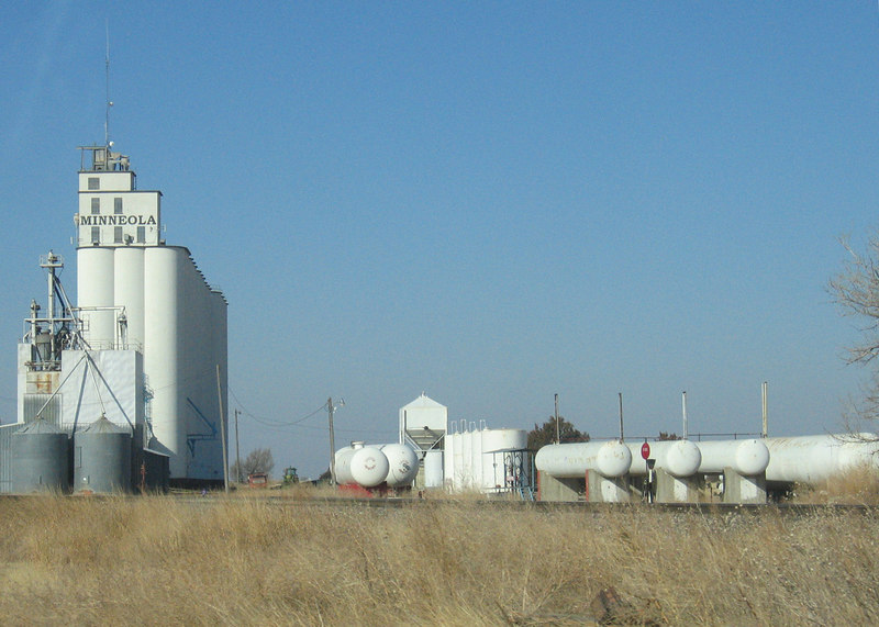 Minneola, KS  along route 283