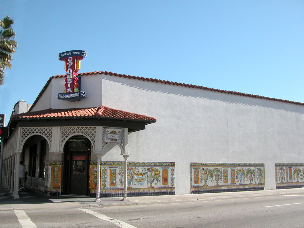 The Historic Columbia Restaurant opened it as a corner cafe in the late 1800's. As the restaurant passed from generation to generation, it grew.  Now in its fourth and fifth generation of ownership and operation, it is the oldest restaurant in Florida and the largest Spanish restaurant in the world.