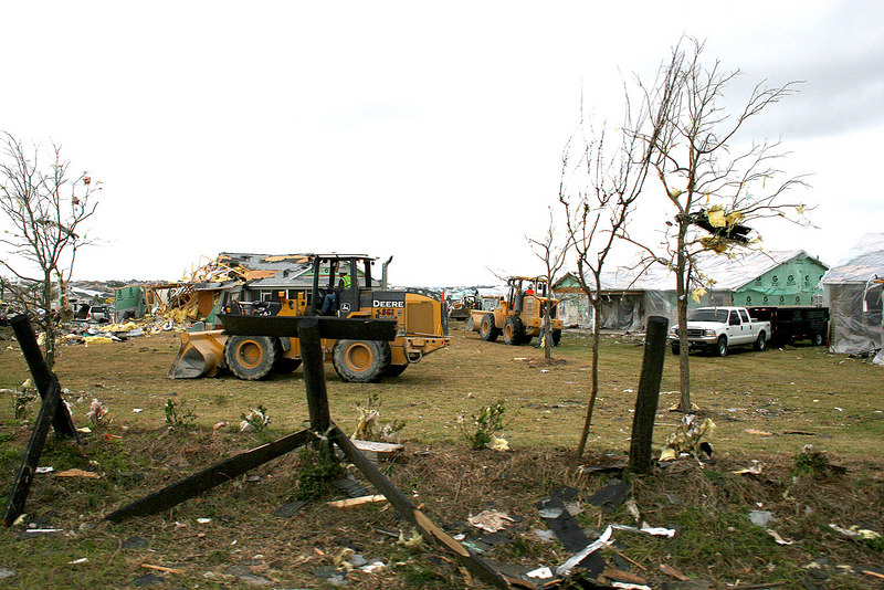 On February 2, 2007 at 3:00a a tornado ripped through The Villages, FL.  Here are some of the pictures of The Villages showing the devastation storms can have.