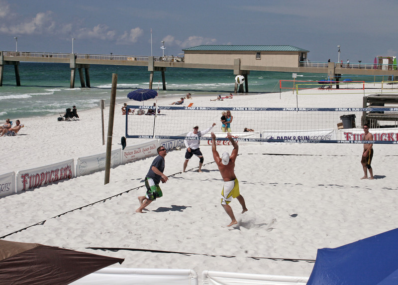 Volleyball game at Ft. Walton Beach, FL