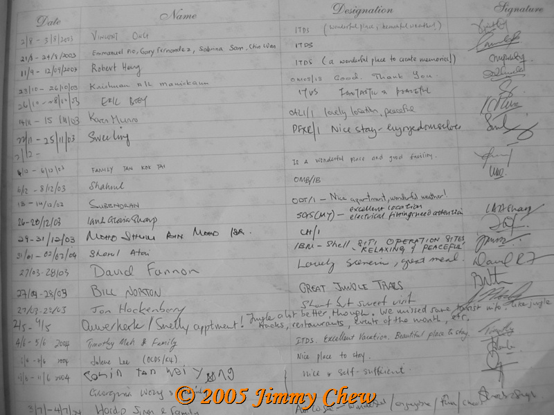 Guestbook - another page.
