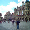 A few shots from the plaza in Rothenburg.