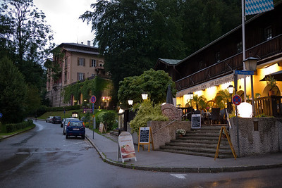 One of our best meals in a restaurant was in this place in Bertesgaden.
