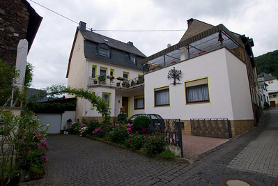 This is the home of our host, Ralph, in Bremm.  Ralph is Mariel's German teacher. Ralph grew up here and rents most of this place and saves a flat for himself and his family when they visit.