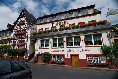 Our hotel on der Mosel.