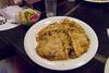 Okonomiyaki, Hiroshima style.