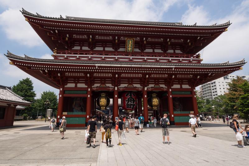 Hozomon gate, Sensō-ji Temple.