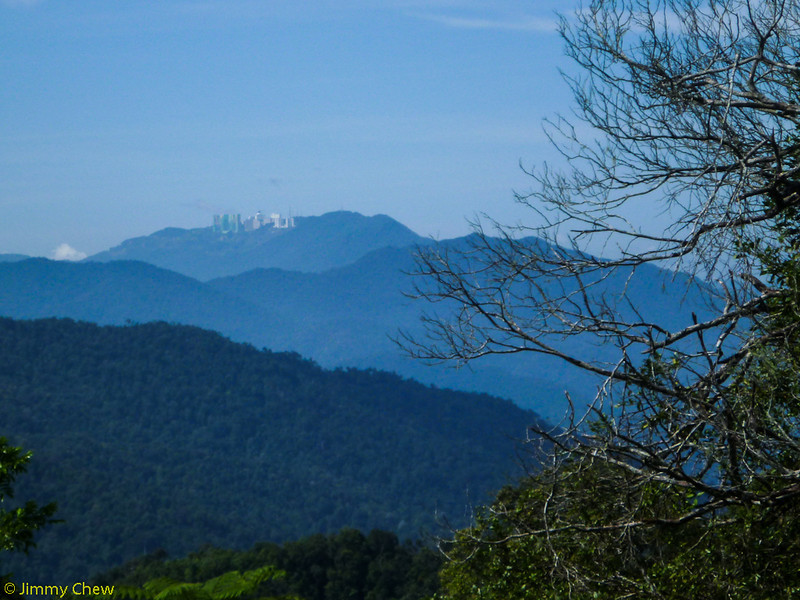 View of Genting Highlands.