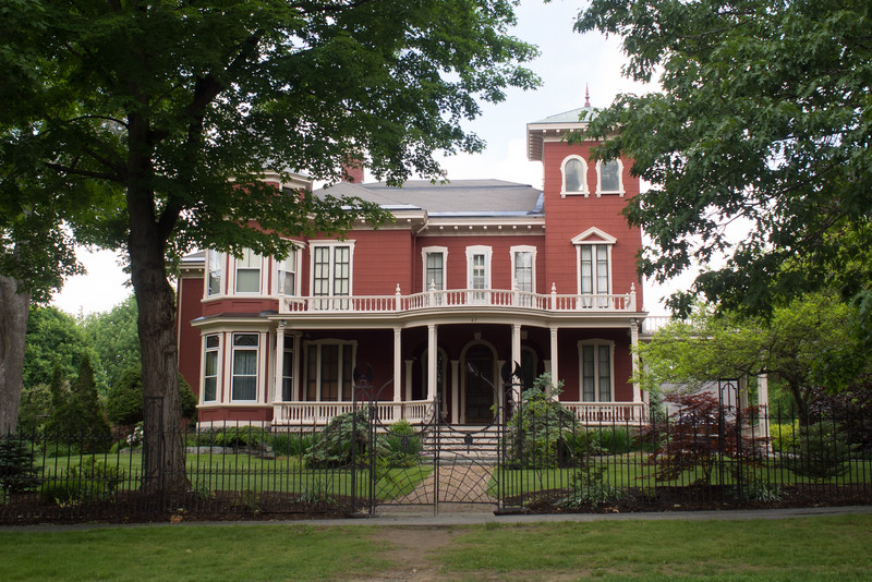 Stephen King's Bangor residence.